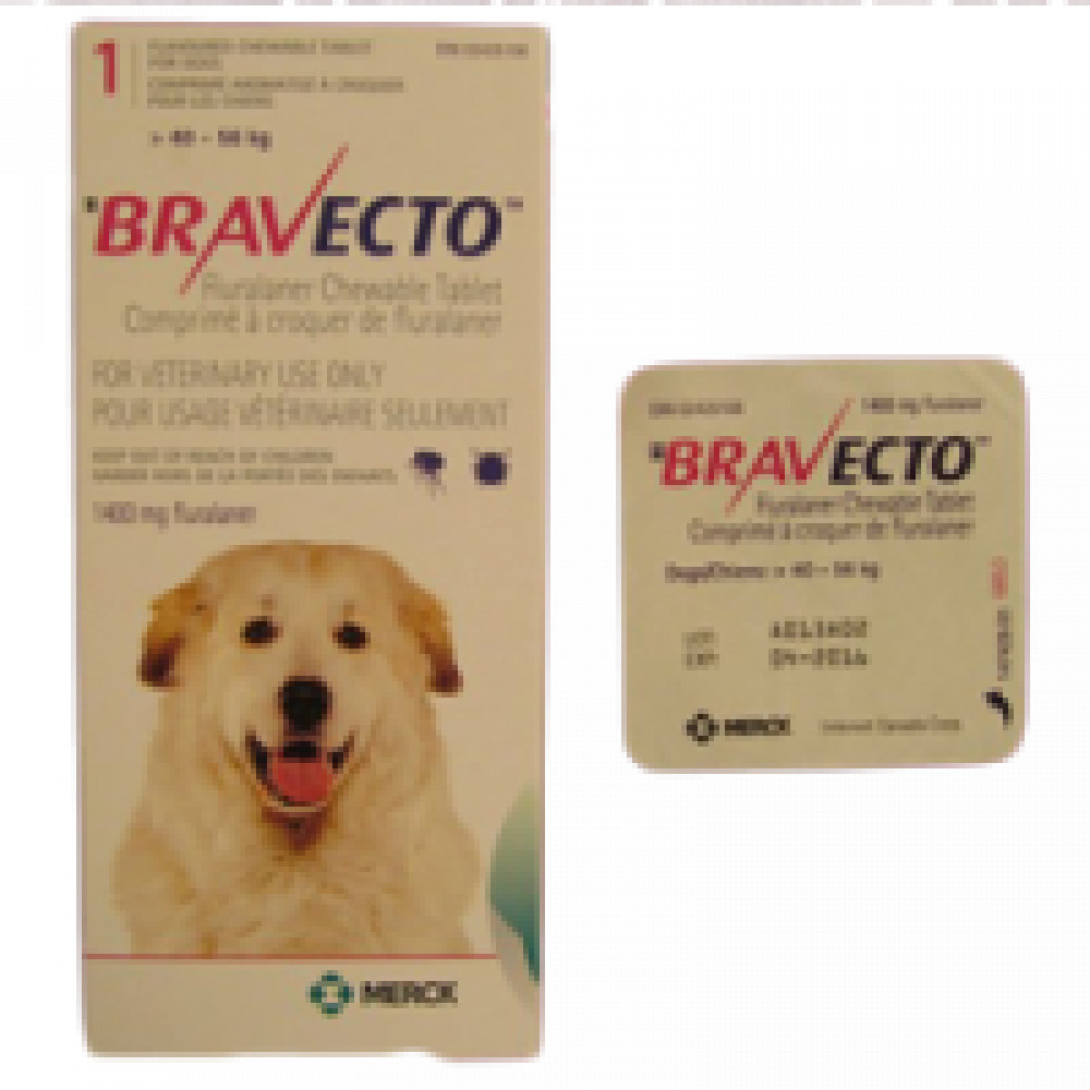 Bravecto Pink 1400mg (40kg-56kg) photo