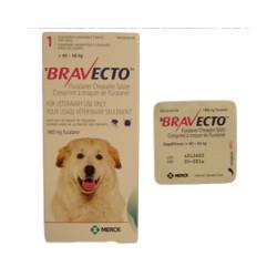 Bravecto Pink 1400mg (40kg-56kg)