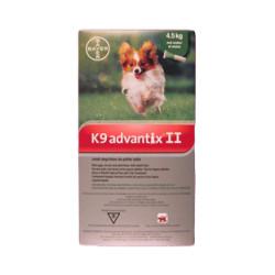 K9 Advantix II (S - 1-10lb)