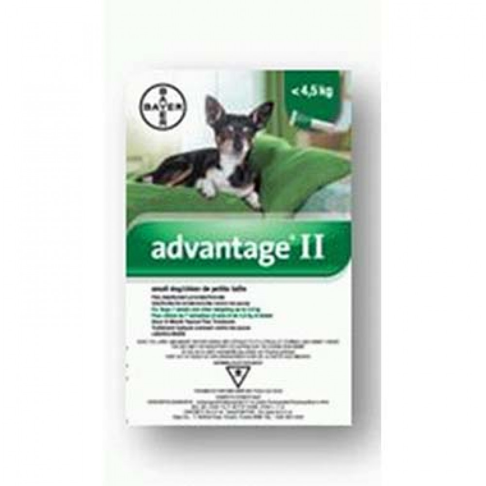 Advantage II (Canine - Small) 4X0.4ml photo