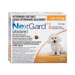 NexGard (1.8 - 4.5kg)