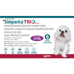 Simparica Trio Purple 2.6-5kg