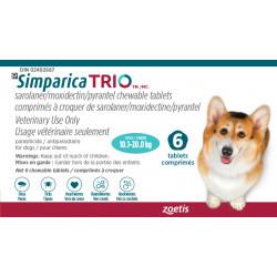 Simparica Trio Blue 10.1-20kg