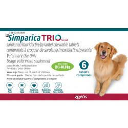 Simparica Trio Green 20.1-40kg