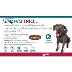 Simparica Trio Brown 40.1-60kg