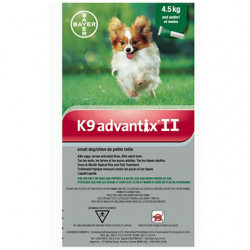 K9 Advantix II (S<4.5kg)
