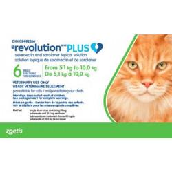 Revolution Plus Green 5.1-10kg feline