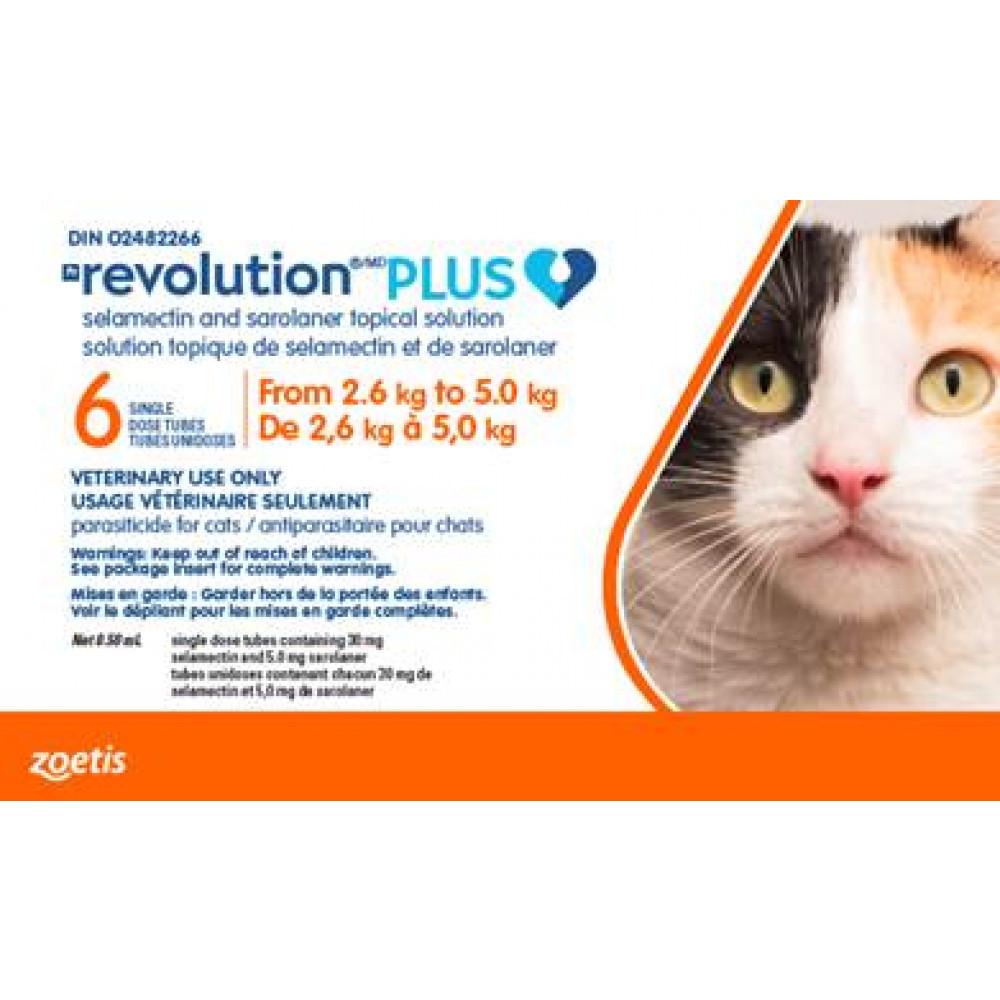 Revolution Plus orange 2.6-5.0kg feline photo