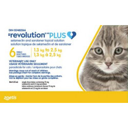 Revolution Plus yellow 1.3-2.5kg feline