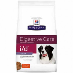 I/D Diet Canine Low Fat Digestive Care GI Restore Bag / 27.5 lb