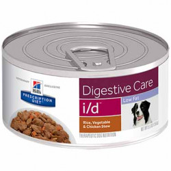 I/D Diet Canine Low Fat Digestive Care Chicken Stew Can/24x5.5 oz