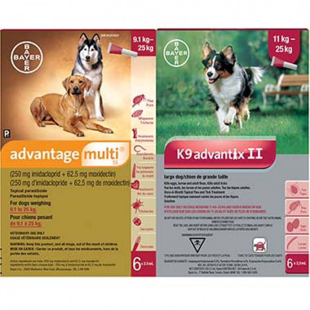 Advantage Multi 55 Duo Plus(Advantage Multi 55-6/K9 Advantix Large-8 ) photo