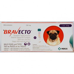 Bravecto Topical 250mg (Dogs >4.5-10kg)
