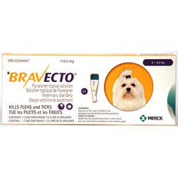 Bravecto Topical 112.5mg (Dogs 2-4.5kg)